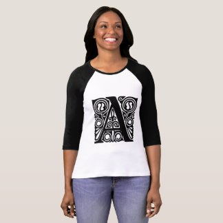 alphabet letter capital A T-Shirt