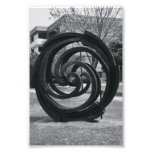 Alphabet Letter Photography O7 Black and White 4x6 Photo Art