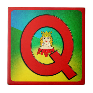 Alphabet Letter Q Tile