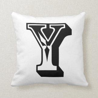 """Alphabet Letter """"Y"""" ABC Word Cushion"""