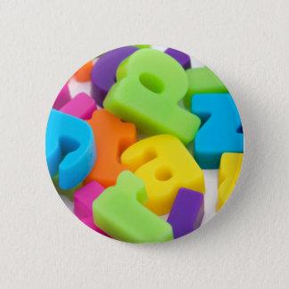 alphabet letters background badges