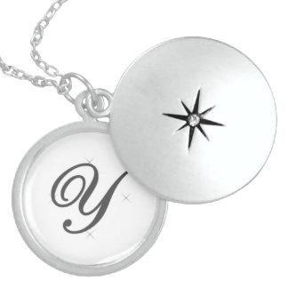 Alphabet locket - Y