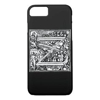Alphabet of Death letter Z iPhone 7 Case