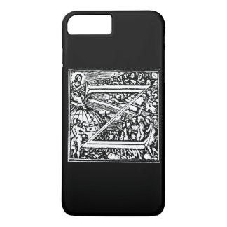 Alphabet of Death letter Z iPhone 7 Plus Case