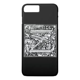 Alphabet of Death letter Z iPhone 7 Plus Case