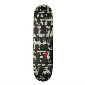 Alphabet Painting by Norman Wyatt 21.3 Cm Mini Skateboard Deck