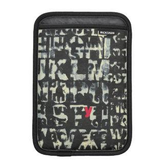 Alphabet Painting by Norman Wyatt iPad Mini Sleeve