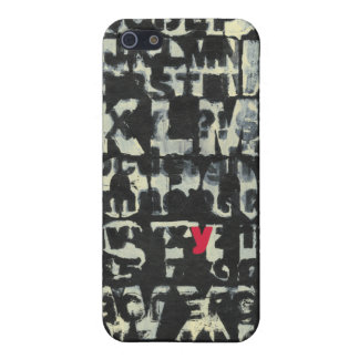 Alphabet Painting by Norman Wyatt iPhone 5/5S Cover