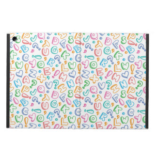 alphabet pattern iPad air cases