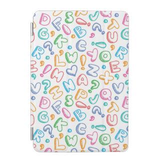 alphabet pattern iPad mini cover