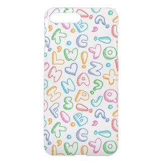 alphabet pattern iPhone 8 plus/7 plus case