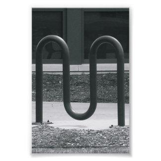 Alphabet Photography M1 Black and White 4x6 Photo