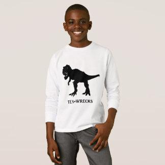 Alphabet - T-Rex - Tea-Wrecks T-Shirt