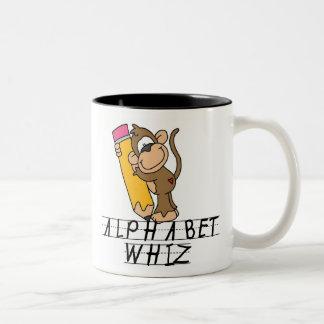 ALPHABET WHIZ COFFEE MUG