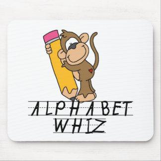 Alphabet Whiz Mouse Pad