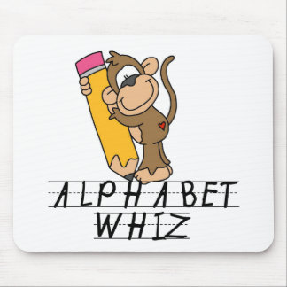 Alphabet Whiz TShirts and Gifts Mousepads