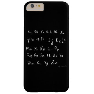 Alphabet with letter as if outside boy barely there iPhone 6 plus case