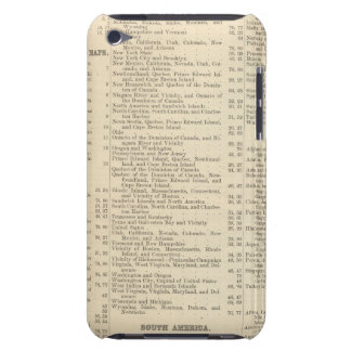 Alphabetical List of Maps and Charts Barely There iPod Case