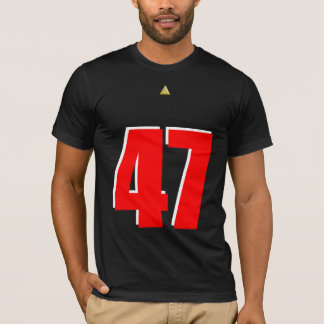 """Alphaco """"AK 47"""" Gangsta Jersey T-Shirt"""