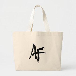 AlphaFitt Plain Logo Jumbo Tote Bag