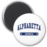 Alpharetta Georgia College Style t shirts Refrigerator Magnets
