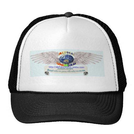 AlphaUniform Merchandise Mesh Hats