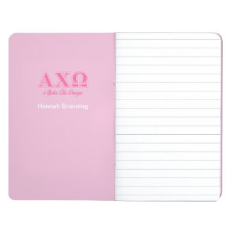 Alphi Chi Omega Pink Letters Journal