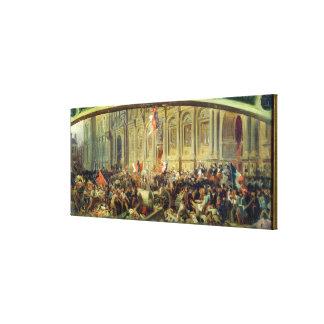 Alphonse de Lamartine Canvas Prints