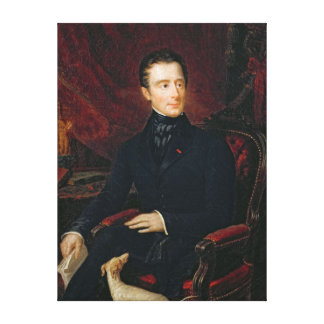 Alphonse de Lamartine Stretched Canvas Prints