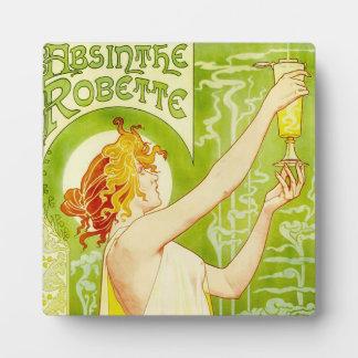 Alphonse Mucha Absinthe Robette Plaque