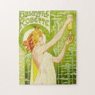 Alphonse Mucha Absinthe Robette Puzzle