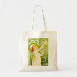 Alphonse Mucha Absinthe Robette Tote Bag