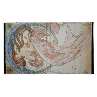 Alphonse Mucha Art Deco iPad Case