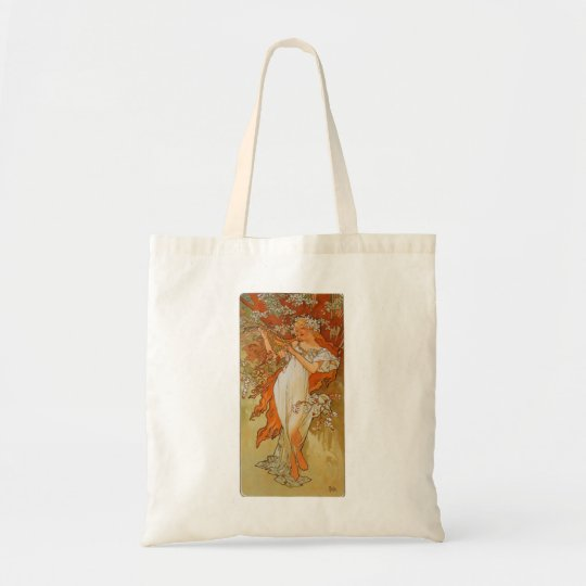 Alphonse Mucha - Art Nouveau - Spring