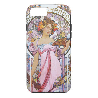 Alphonse Mucha. Champagne advertisement,1899. iPhone 7 Case