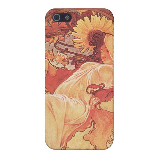 Alphonse Mucha, Chocolat Mexicain 1896 Case For iPhone