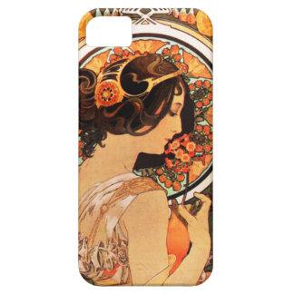 Alphonse Mucha Cow Slip iPhone 5 Case