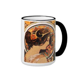 Alphonse Mucha Cow Slip Mug