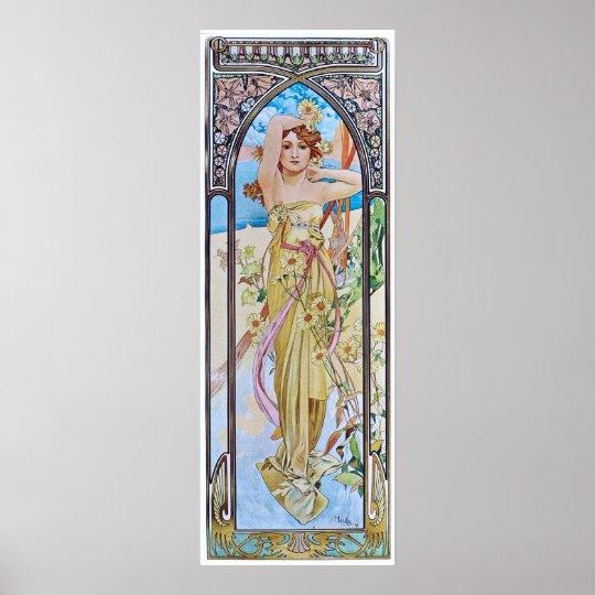 Alphonse Mucha. Eclat Du Jour/Daybreak, 1899 Poster