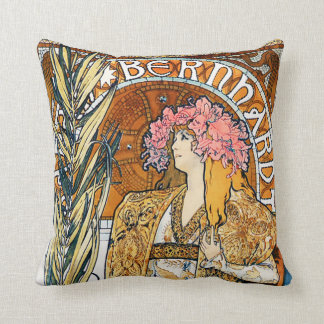 Alphonse Mucha Gismonda Pillow