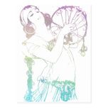 Alphonse Mucha Gypsies Postcards
