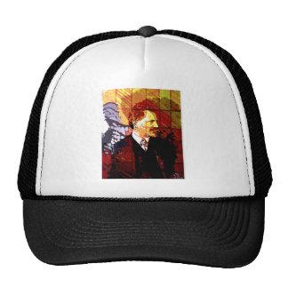 ALPHONSE MUCHA TRUCKER HATS
