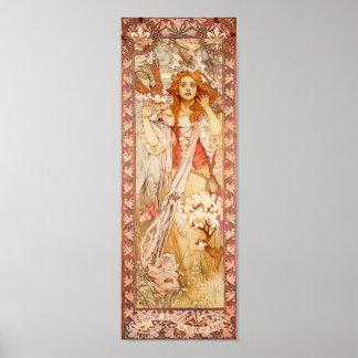 Alphonse Mucha Joan of Arc Poster