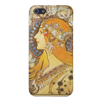 Alphonse Mucha. La Plume. 1896. iPhone 5/5S Cover