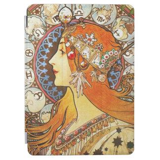 Alphonse Mucha La Plume Zodiac Art Nouveau Vintage iPad Air Cover