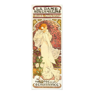 Alphonse Mucha Lady of the Camelias Print Photograph
