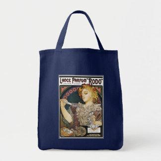 "Alphonse Mucha- Lance Parfum ""Rodo"" - Perfume Ad Bags"