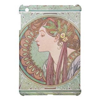 Alphonse Mucha Laurel Art Nouveau iPad Case