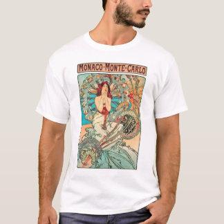 Alphonse Mucha Monaco, Monte-Carlo, 1897 T-Shirt