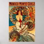 Alphonse Mucha Monte Carlo Poster